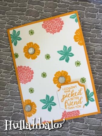 041018 - Mango Floral Card